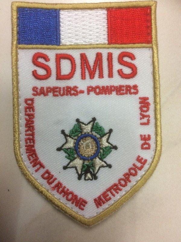 Nouveau écusson SDMIS Rhône