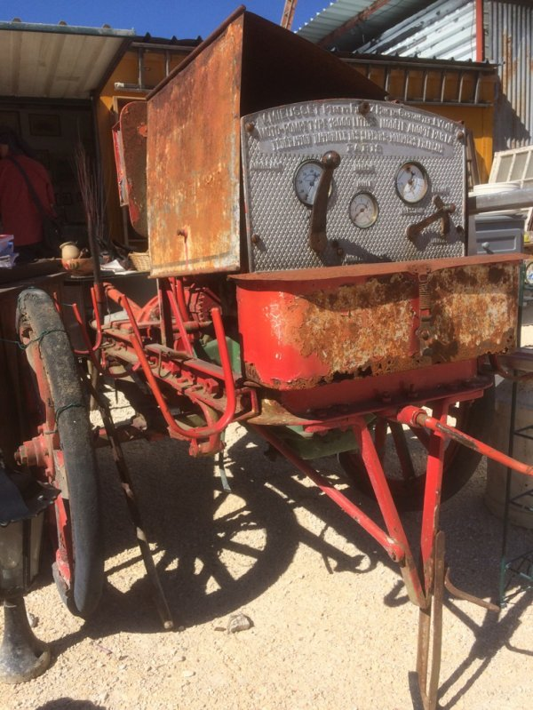 Moto pompe 1924
