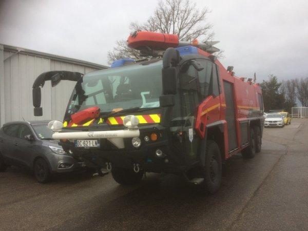 Journée pompier à St Exupery (suite ) 27/01/18