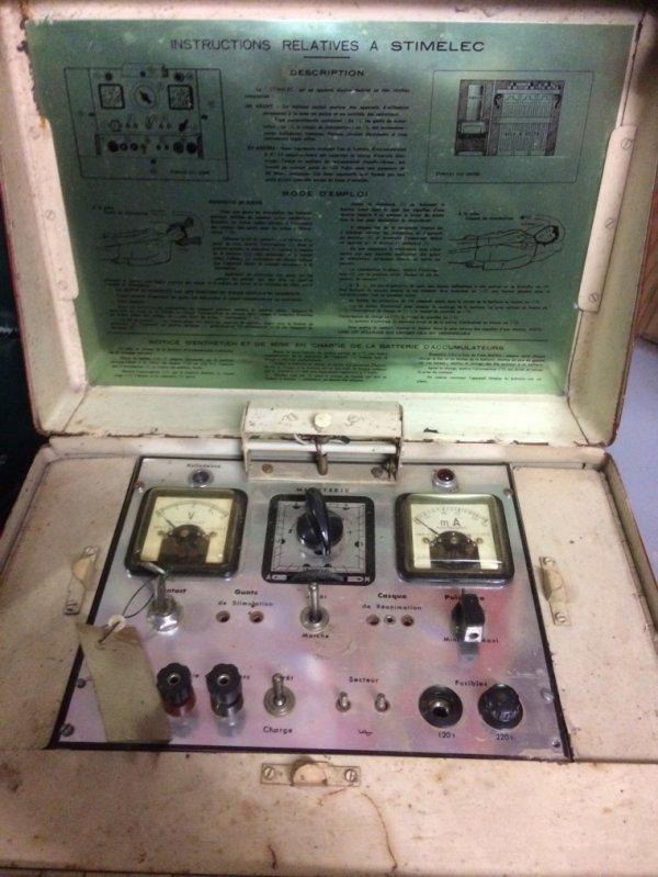 Stimelec ancien défibrillateur