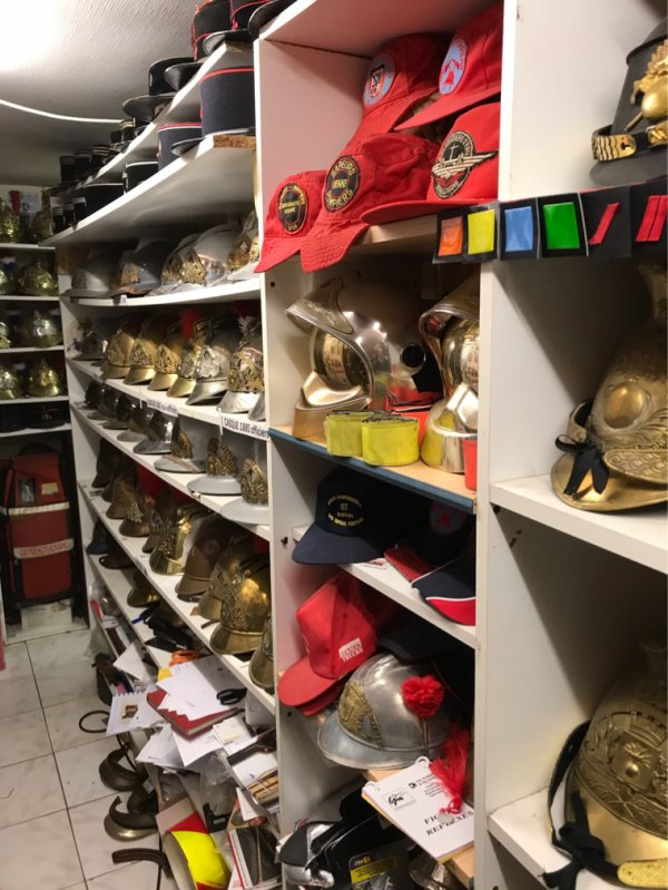 Casques pompiers