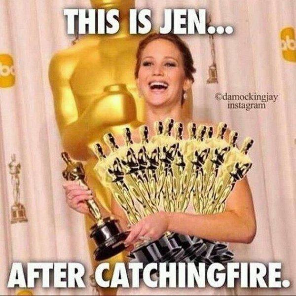 Jennifer et ses oscares !!!