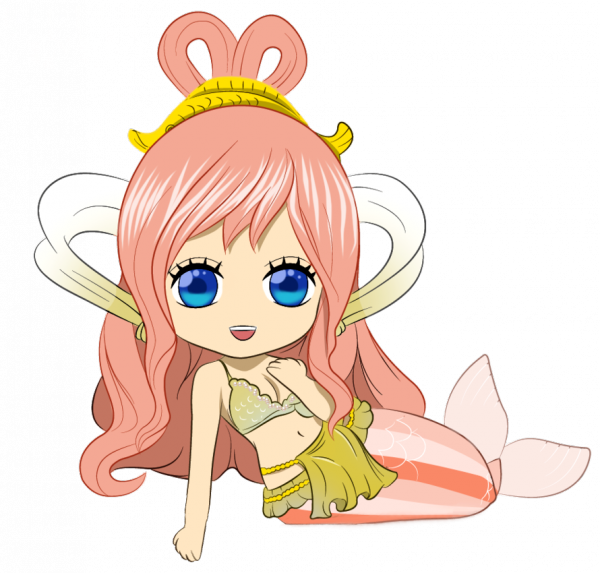 One Piece-Chibi Princesse Shirahoshi