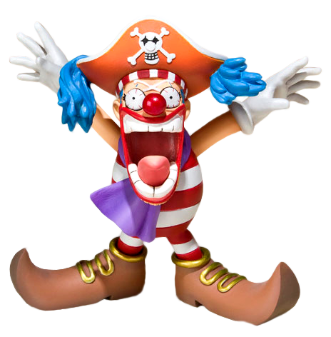 Render figurine Baggy le Clown