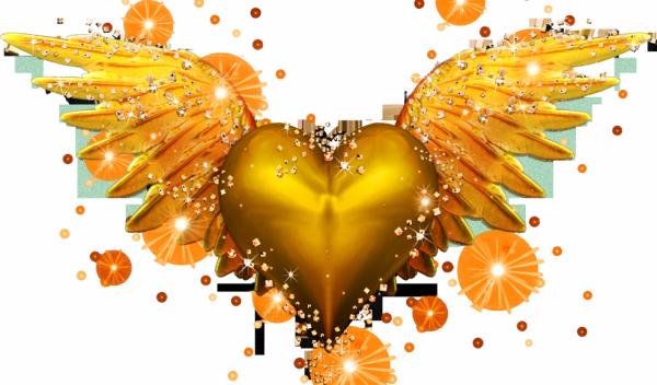 Coeur en or