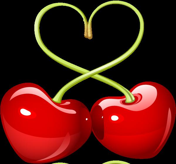 Amour deux cerises