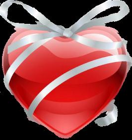 Mon coeur en cadeau