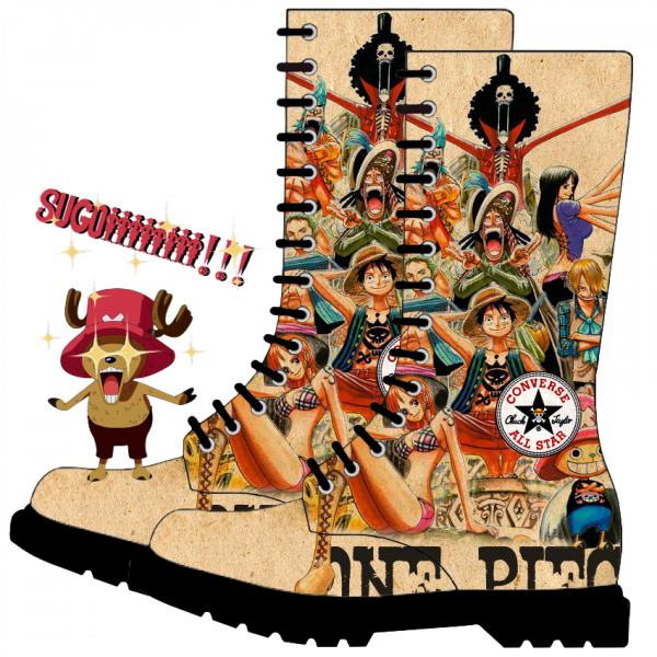 Renders paire Converse One piece Tony Shopper sugoiii !!!