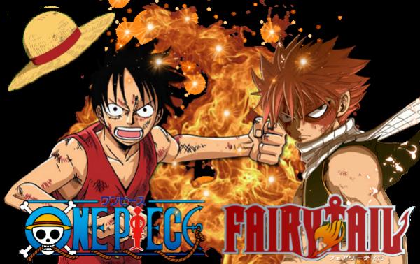 Renders Luffy et Natsu