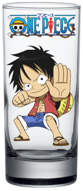 Render Verre One Piece Luffy