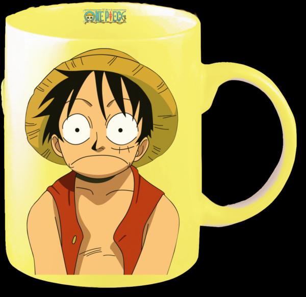 Render mug One Piece Luffy
