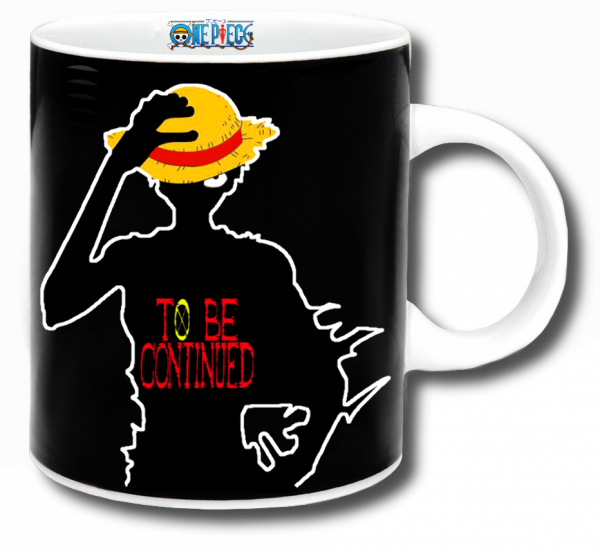 Render mug One Piece Luffy