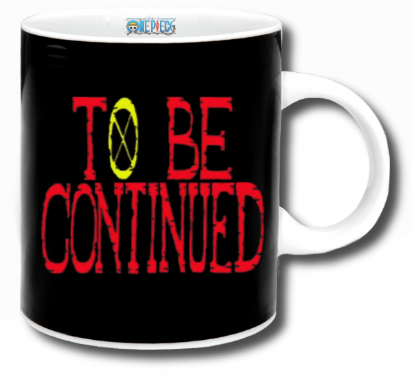 Render mug One Piece to be continued