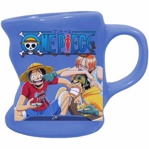Render mug One Piece Luffy Ussop et Nami