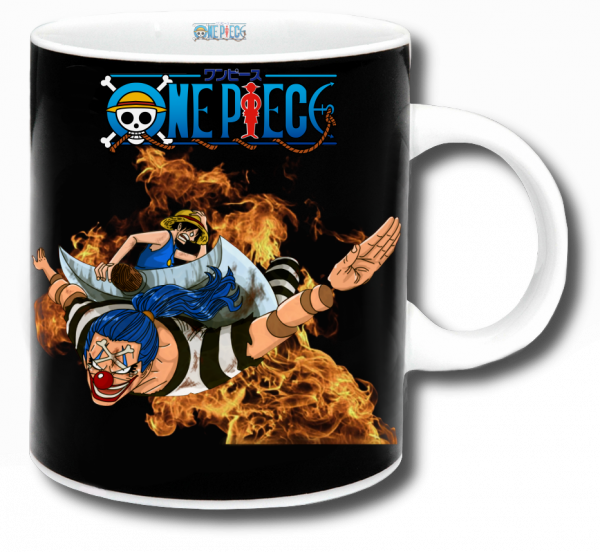 Render mug One Piece Luffy et Baggy