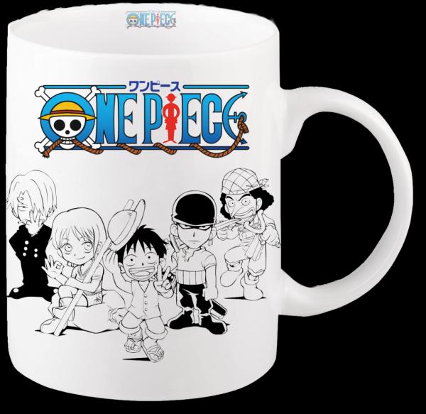Render mug l'équipage Mugiwara 4