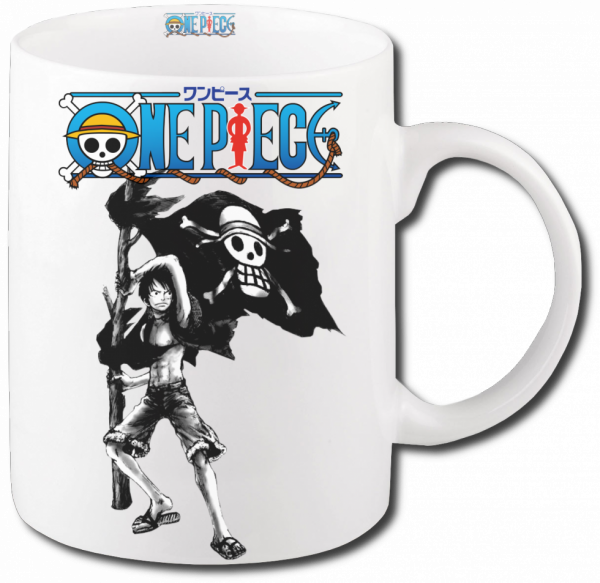 Render mug One Piece Luffy 2