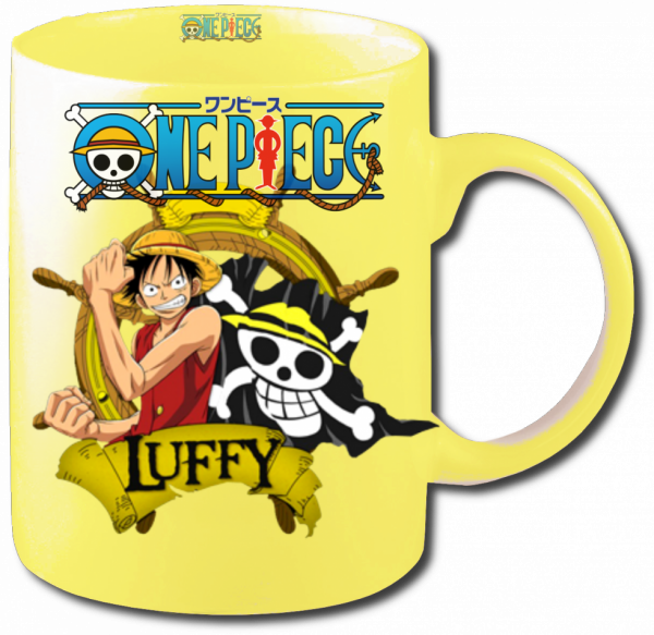 Render mug One Piece Luffy 3