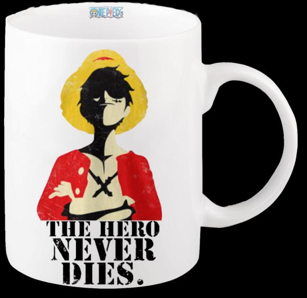 Render mug One Piece Luffy 4