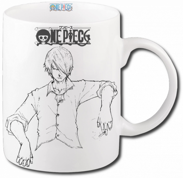 Render mug One Piece Sanji
