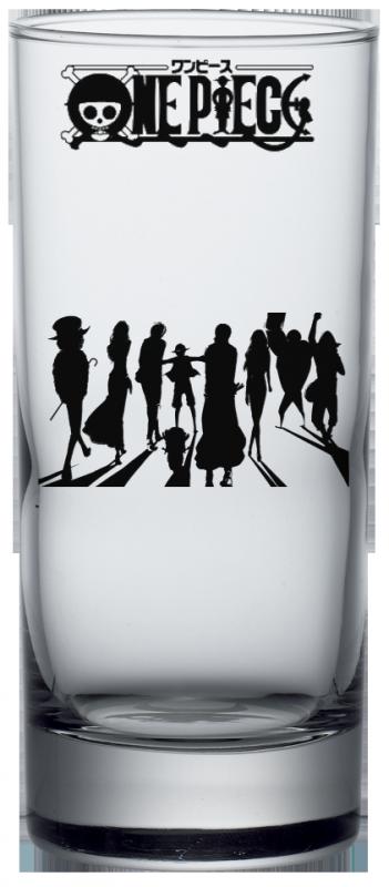 Render Verre One Piece l'équipage Mugiwara