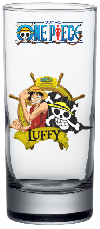 Render Verre One Piece Luffy 2