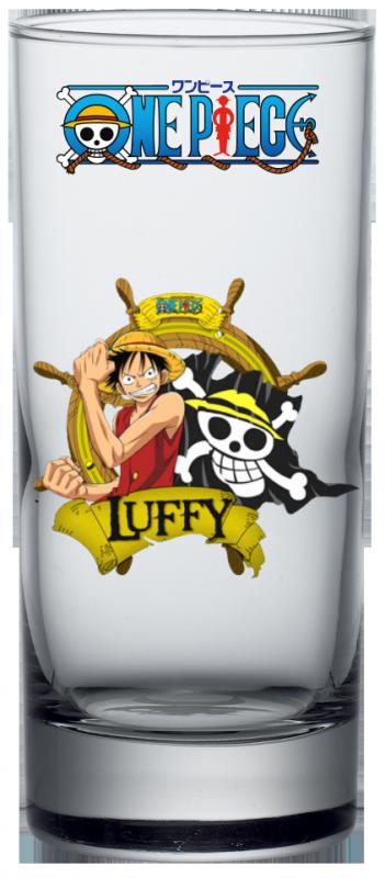 Render Verre One Piece Luffy 2