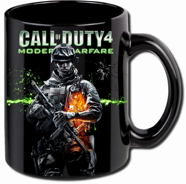 Render Mug Call of Duty 4 Modern Warfare