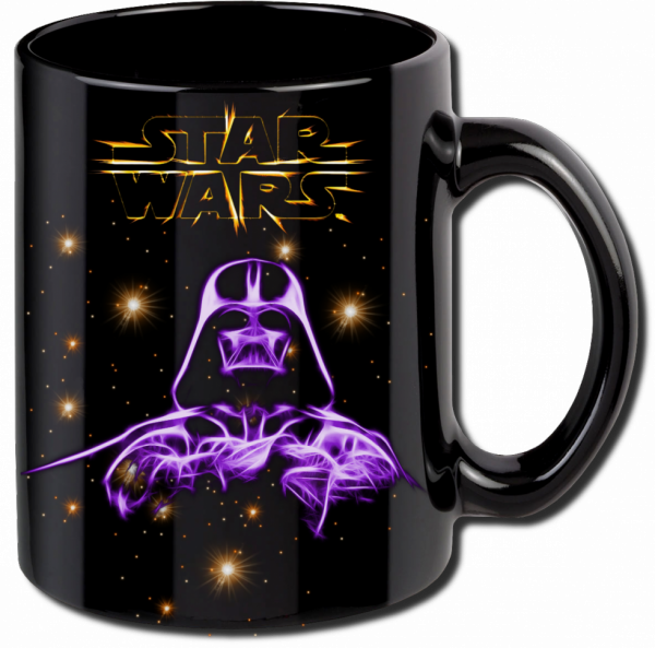 Render mug Star Wars dark vador