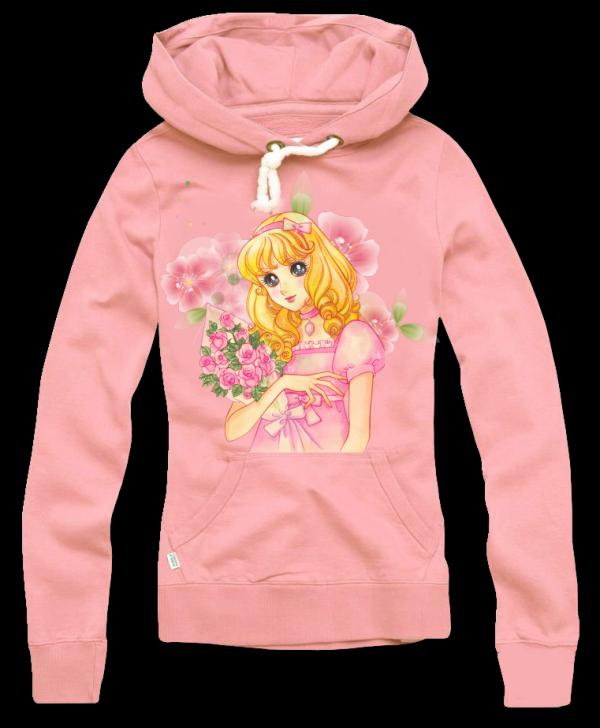 Render Sweat a capuche rose lolita blonde