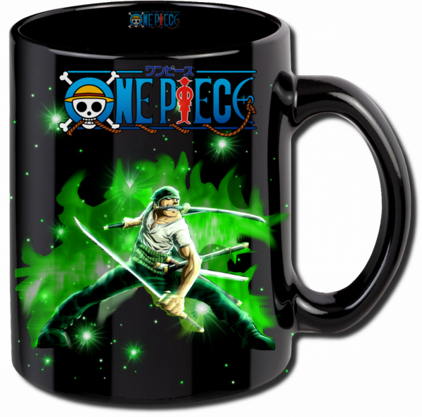 Render mug One Piece Roronoa Zoro 3