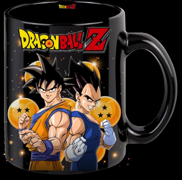 Render mug Drangon Ball Z Goku et Végeta