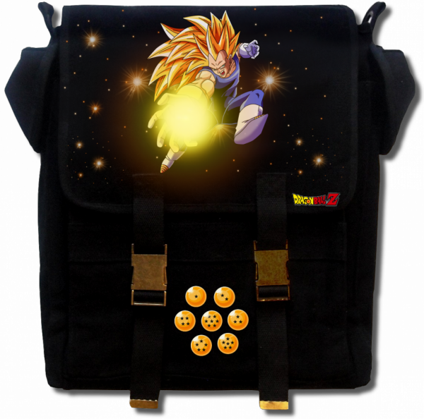 Render sac a dos Dragon Ball Z vegeta super sayen 3
