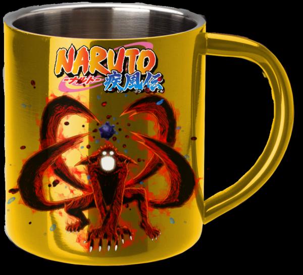Render mug Naruto Shippuden Naruto kyubi
