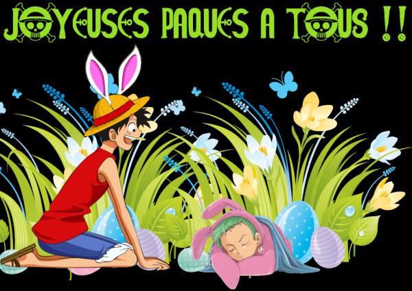 Joyeuses Pâques a tous o_-
