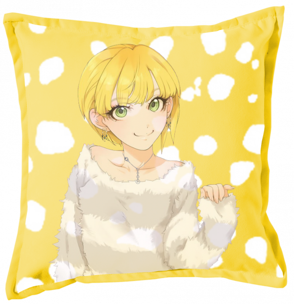 Renders Coussin jaune The Idolm@ster Miyamoto Frederica