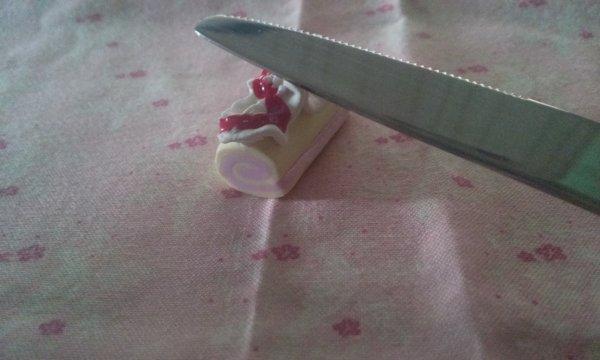 Repose couteau Bûche de Noel !