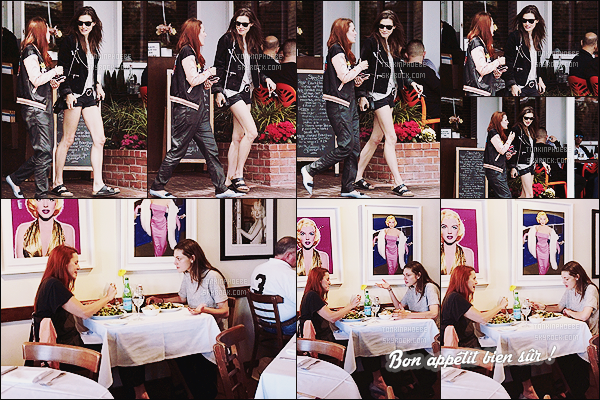09/05/2015 : La jolie Phoebe Tonkin a été photographiée alors qu'elle allait déjeuner avec une amie à Los Angeles. Phoebe était donc rentrée de son séjour au Brésil. J'aime assez sa tenue mais par contre ses chaussures, pas du tout ! Votre avis ?
