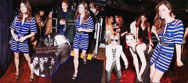 • Apparition publique - 30/03/2015 : Phoebe T' a assisté à une soirée organisée par Chanel à New York. La fête avait lieu à bord pour une croisière, le grand Karl Lagerfeld était bien évidemment présent, on peut l'apercevoir avec P. !