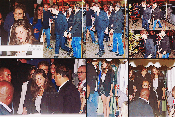 02/05/2015 : La jolie Phoebe était en compagnie de Paul, alors qu'elle sortait d'un restaurant situé à Leblon. Les amoureux ont diné dans le restaurant Antiquarius, ils étaient très élégants j'aime beaucoup la tenue de Phoebe, et vous?