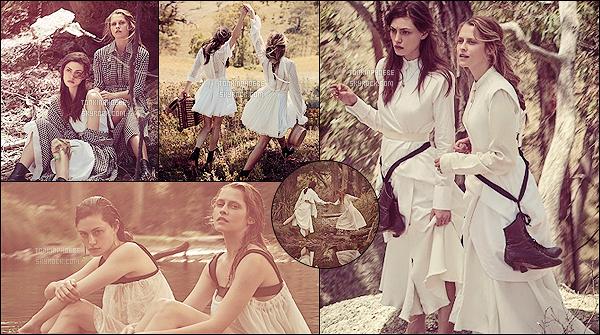 .• • Découvrez un photoshoot pour Vogue de cette année dans lequel nous retrouvons Phoebe & Teresa Palmer