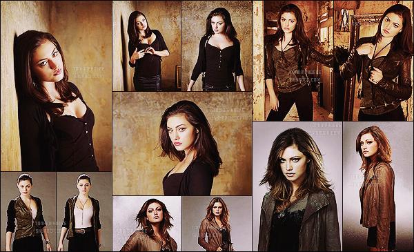 THE SECRET CIRCLE :   → Découvrez les photos promo de cette série trop vite annulée ! Retrouvez toute une multitude de photos pour la saison 1 où Phoebe y tenait le rôle de la sorcière rebelle Faye Chamberlain.