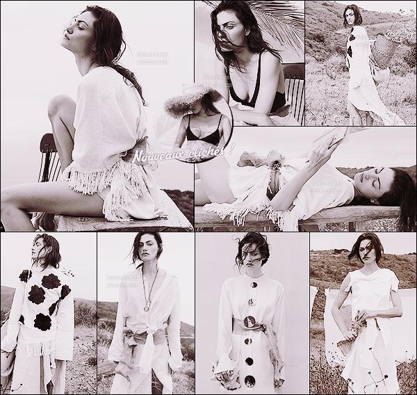 .• • Découvrez de nouveaux clichés de Phoebe lors du shooting pour Unconditional Magazine