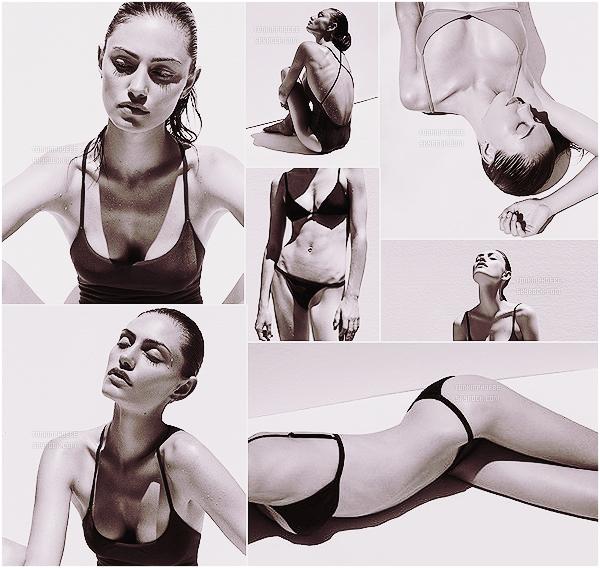 """""""MATTE SWIM"""" :  → Découvrez de nouvelles photos pour la nouvelle collection de Matte Swim Phoebe Tonkin ose les bikinis pour cette marque de maillots de bain, sous l'oeil professionnel de la photographe Alexandra Nataf !"""