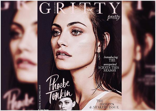 GRITTY PRETTY MAGAZINE : → Découvrez/redécouvrez ce nouveau shooting de Phoebe T' !  La sublime Phoebe prends la pose sous l'objectif de Jake Terry pour la version été 2015 du magazine interactif Gritty Pretty !