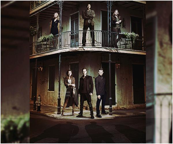 • • Découvrez/redécouvrez une photo promotionnelle de la saison 3 de la série The Originals ! Cette image promo présente les personnages principaux de cette prochaine saison. Petit rappel : la série reprend ce jeudi 8 octobre !