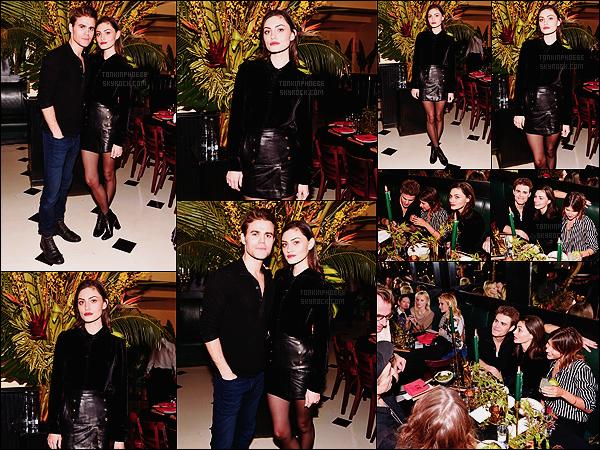 • Apparition publique - 13/02/2016 : Phoebe était présente pour les 3 ans de la marque Frame Denim ! Phoebe et Paul se sont rendus à un repas organisé au restaurant Indochine à New York pour fêter l'anniversaire de la marque !