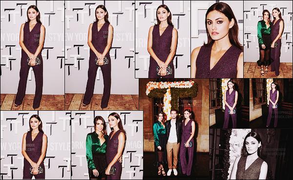 • Apparition publique - 22/10/2015 : Phoebe était à l'inauguration du premier numéro de The Greats. C'est au Chateau Marmont à Los Angeles que la soirée s'est déroulée, Phoebe Tonkin était parmi des concepteurs, rédacteurs...