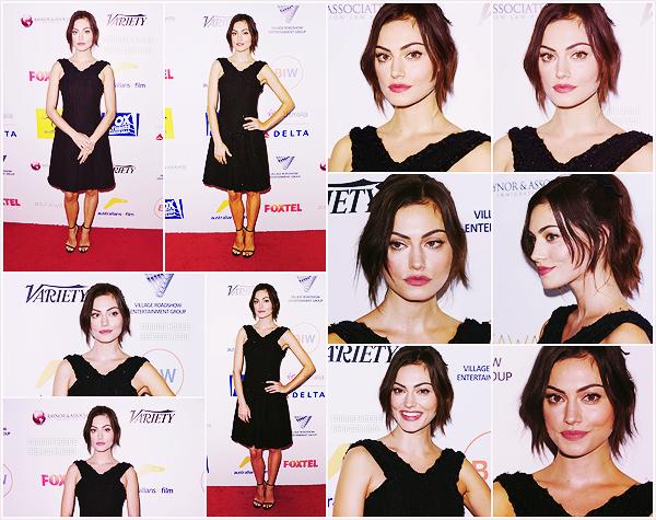 • Apparition publique - 25/10/2015 : Phoebe a assisté à la 4e édition des Australians In Film Awards. Cette soirée était organisée à Century City, en Californie, afin de récompenser les actrices et acteurs d'Australie. Top ou flop ?