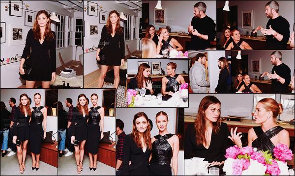 • Apparition publique  - 26/04/2016 : Phoebe a assisté à un dîner privé en compagnie de Rosie Huntington Ce diner était organisé par The Line et la soirée avait lieu à Los Angeles. Phoebe et Rosie sont toutes mignonnes ensembles ! Un top